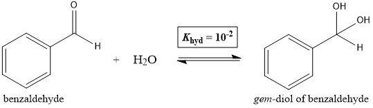 Benzaldehyde Hydration